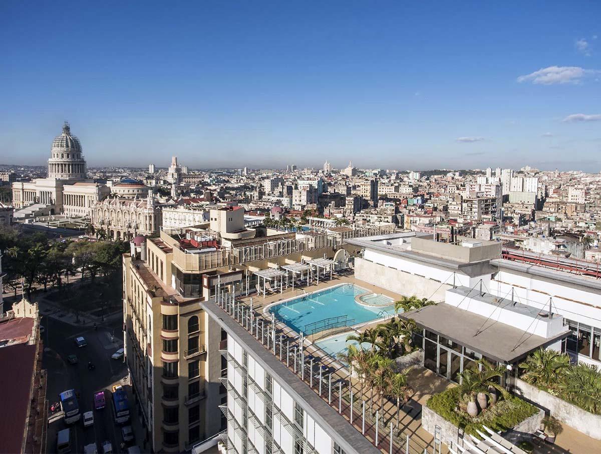 Hotel con vista a L'Havana, Cuba
