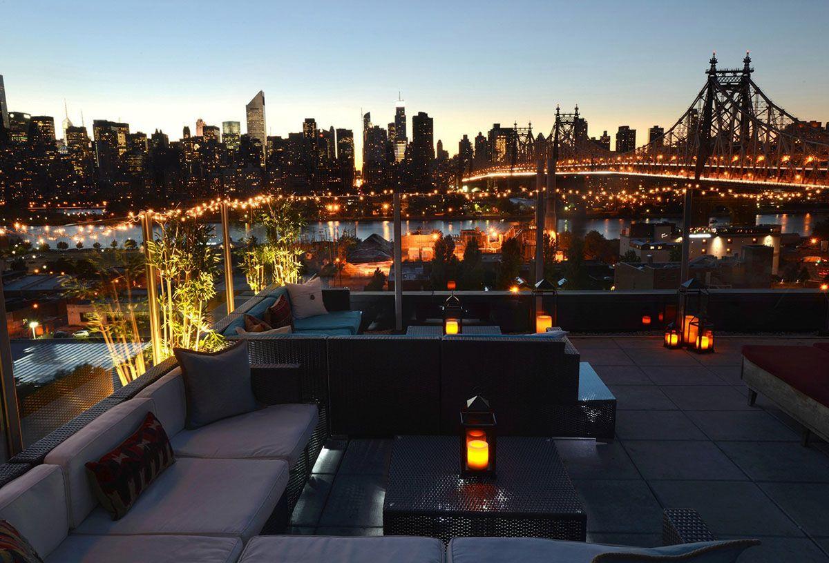 La vista dallo Z NYC Hotel