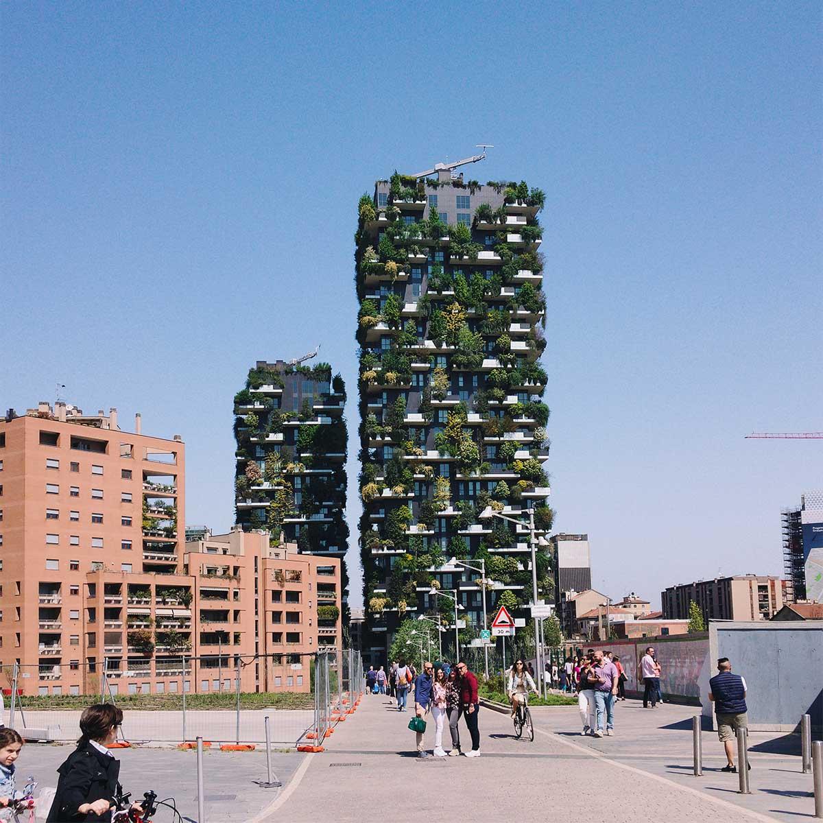 Bosco Verticale, Milano | credits: Alexey Ruban