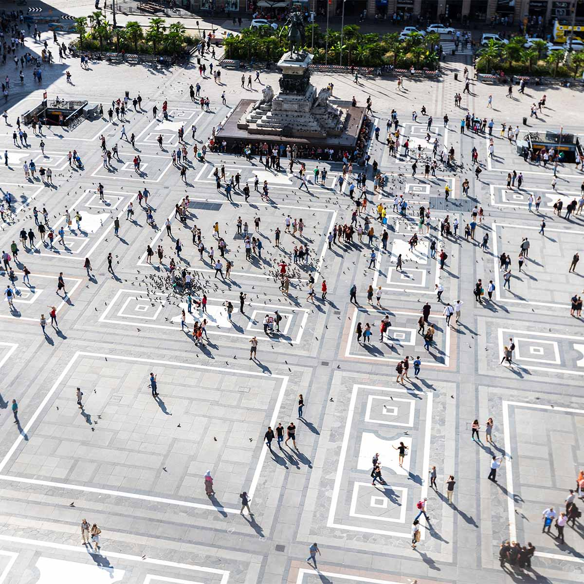 Piazza del Duomo, Milano | credits: Jilbert Ebrahimi