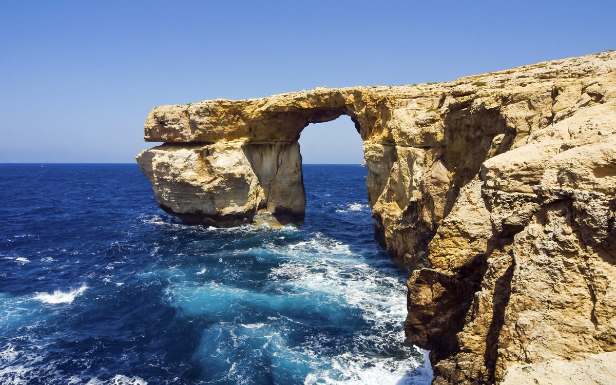 Azure Window, Malta – Vogue Sugar