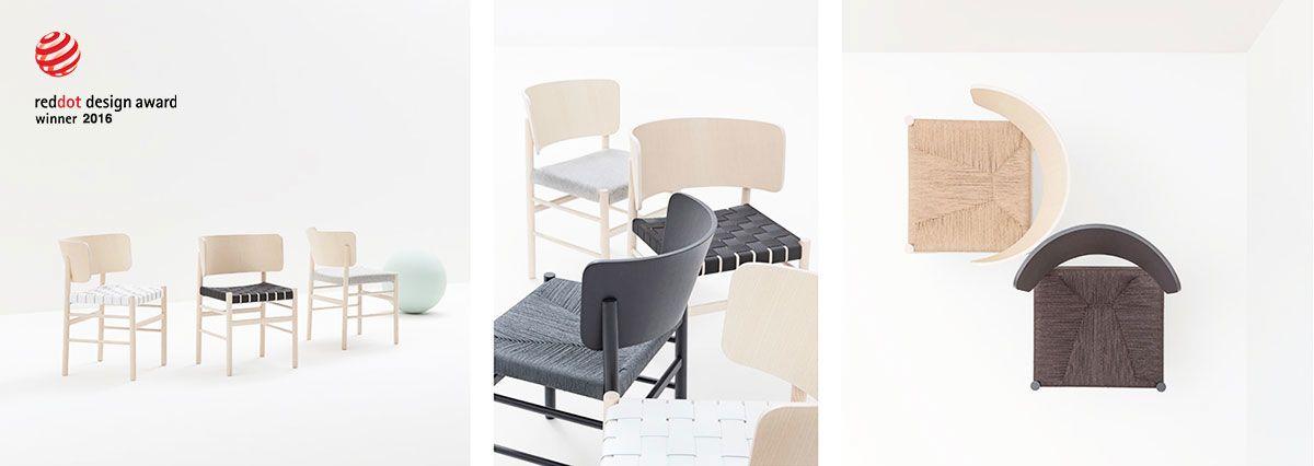 Sedia Fratina di Billiani - Ha vinto il Red Dot Awart 2016 nella categoria Product Design