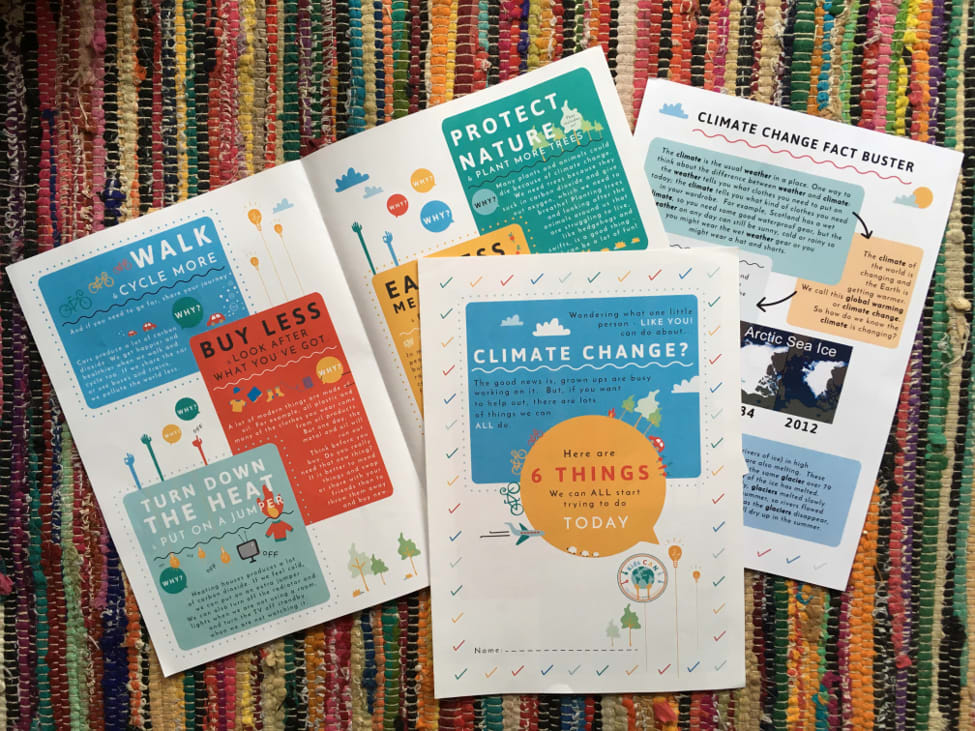 Kids CAN resources, educating children on climate change