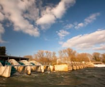 Sandford Hydro on a sunny day