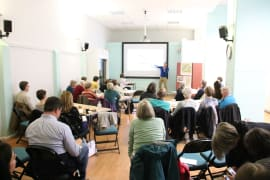 Charlie Luxton presents at the Low Carbon Hub Inspired by Communities event 2019