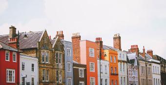 Row of buildings on Oxford's Broad Street
