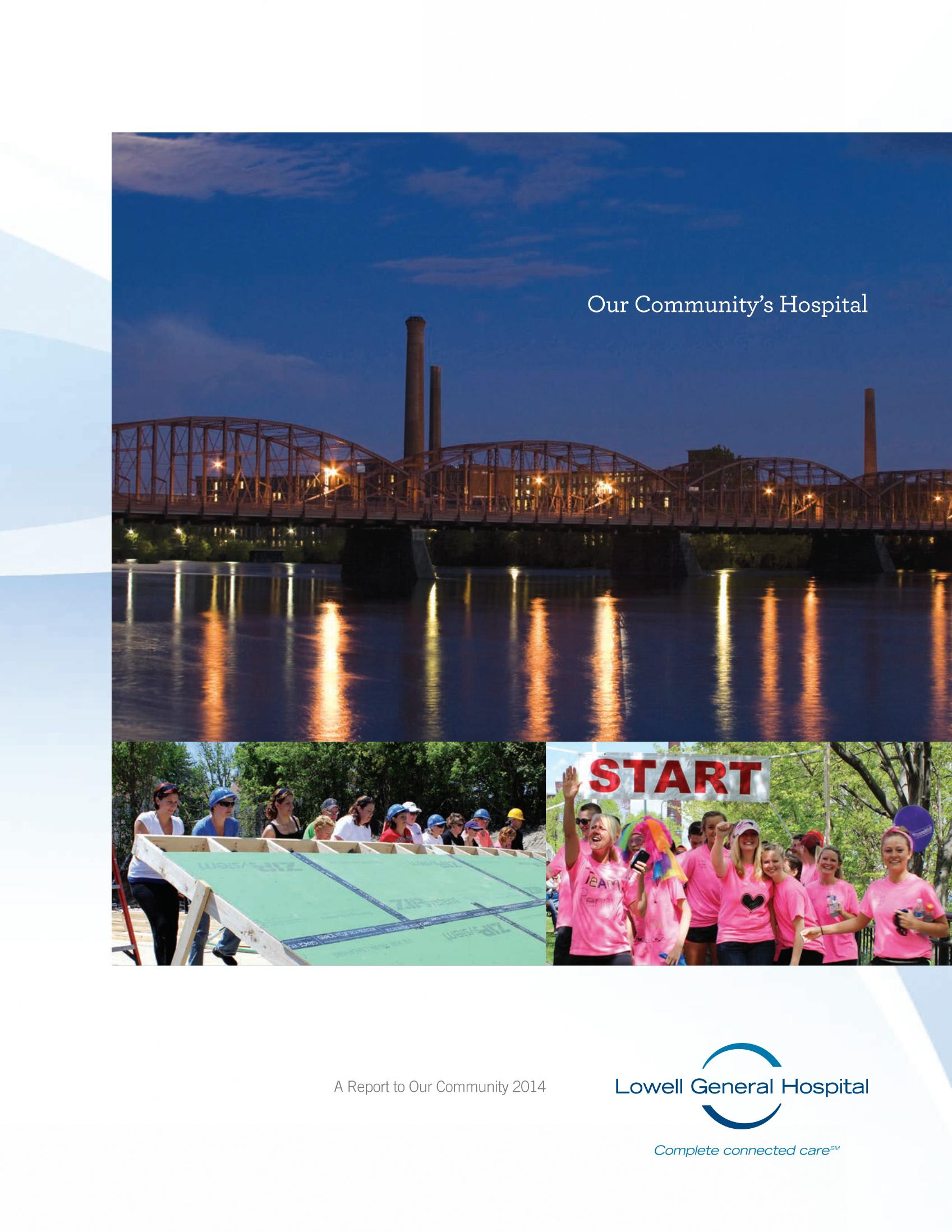 Lowell General Hospital Report to the Community, Fiscal Year 2014