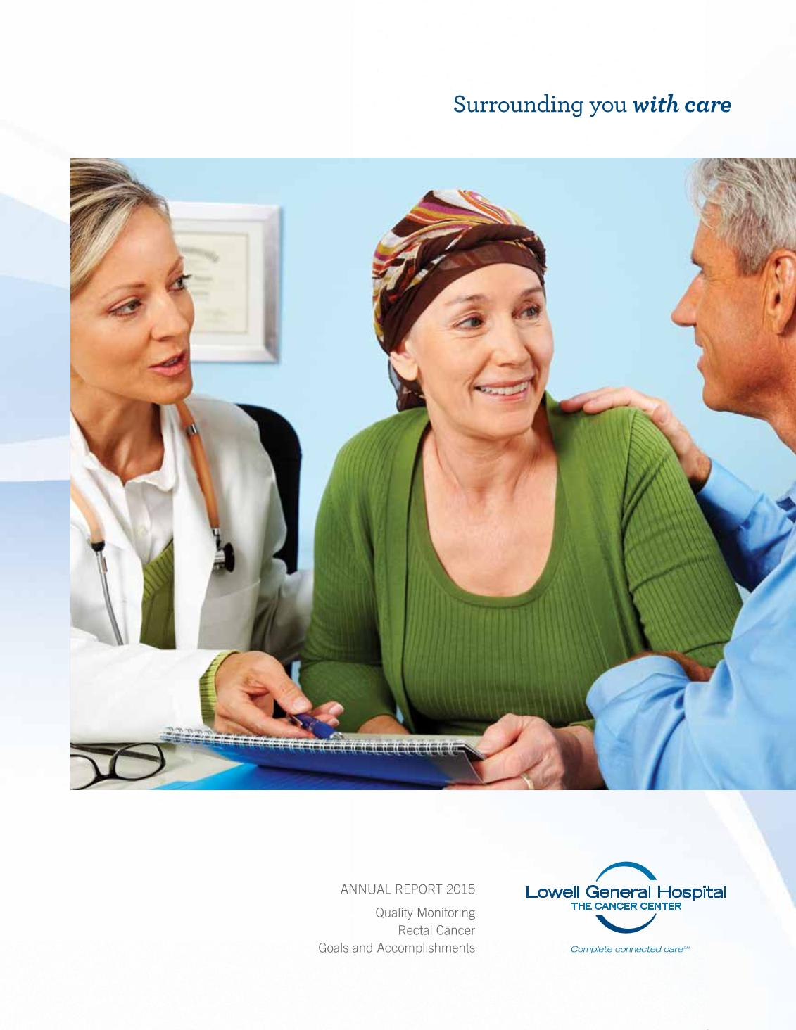 Cancer Center Annual Report 2015