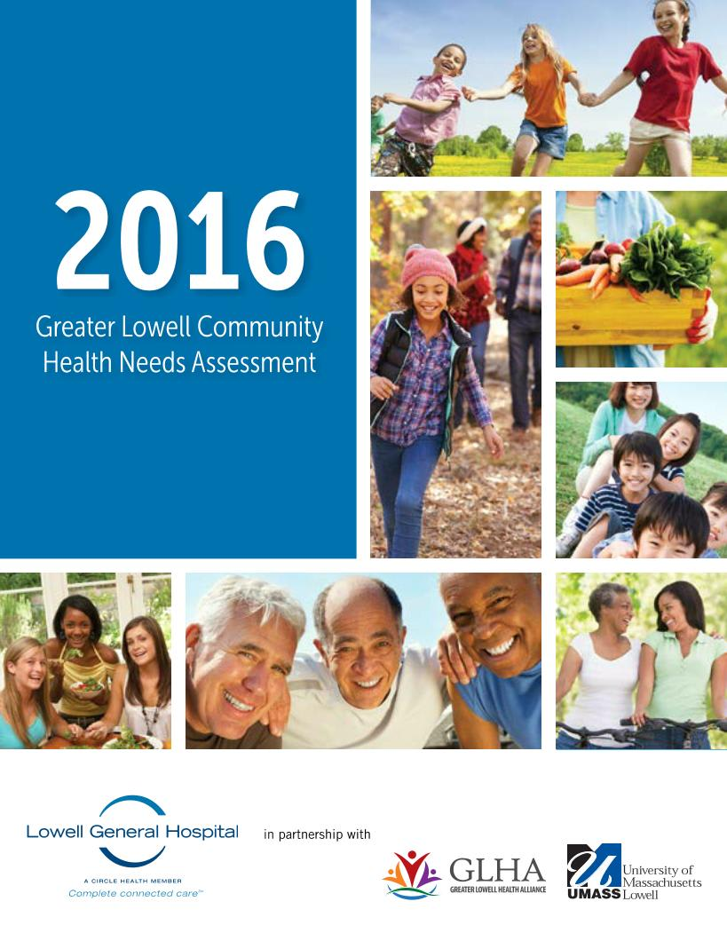 2016 Greater Lowell Community Health Needs Assessment