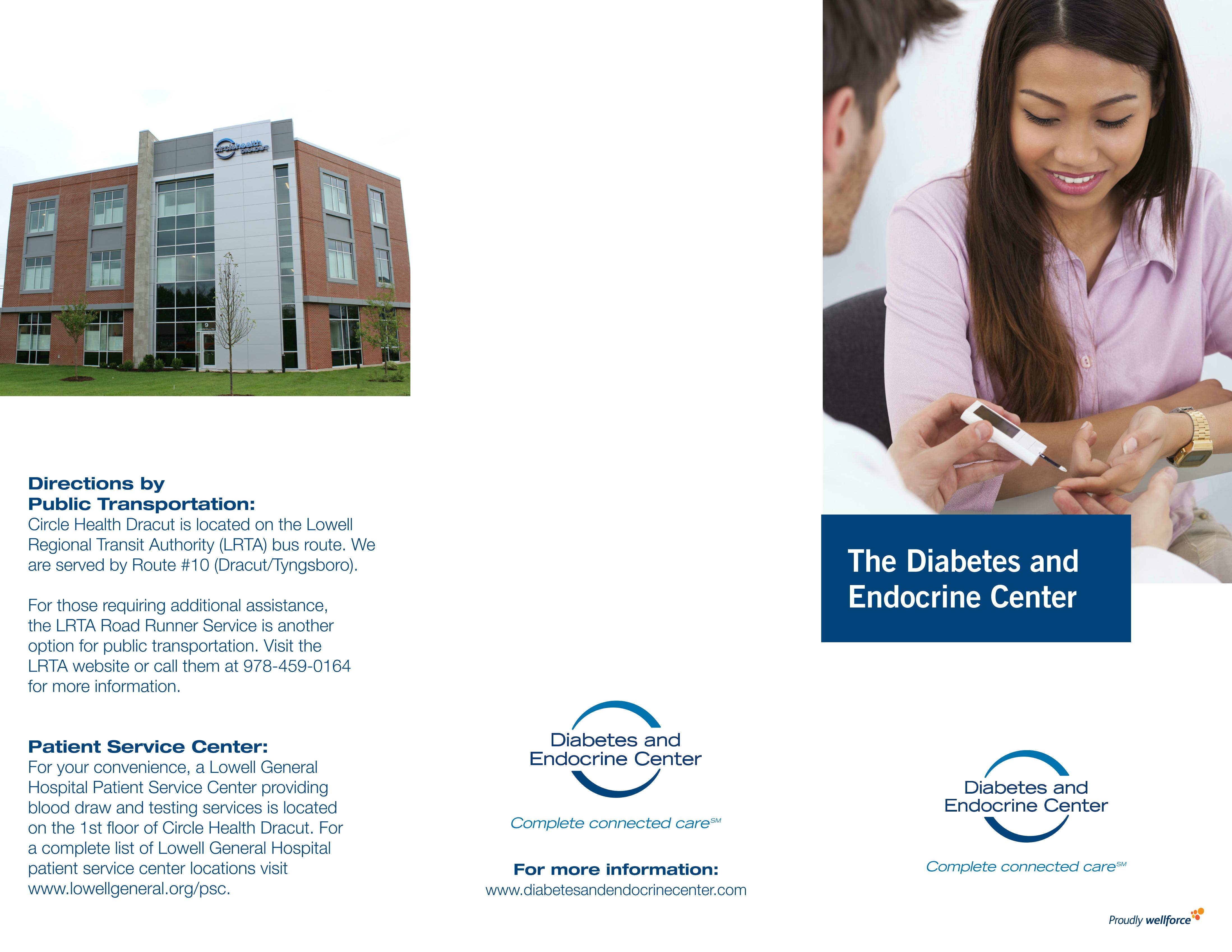 The Diabetes and Endocrine Center brochure
