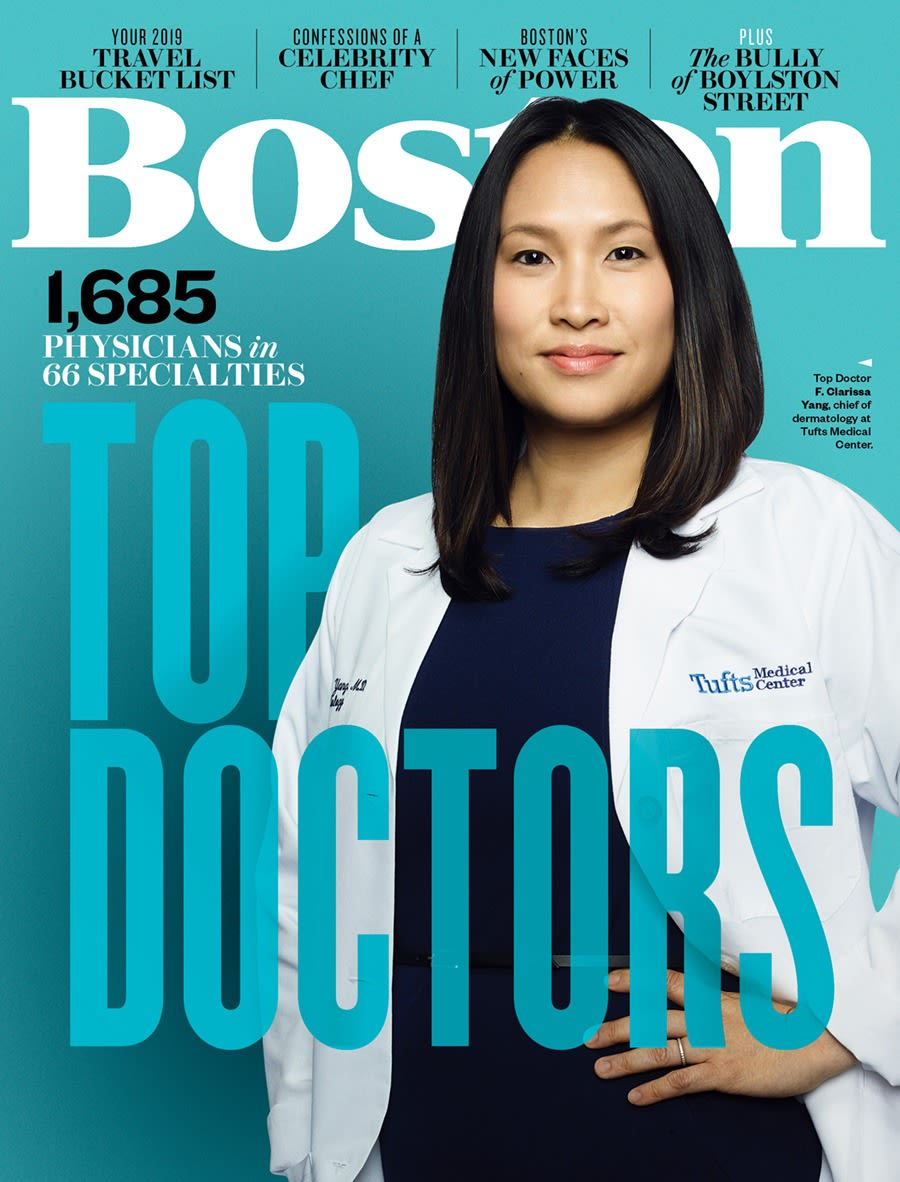 Boston Magazine 2019 January Issue Cover