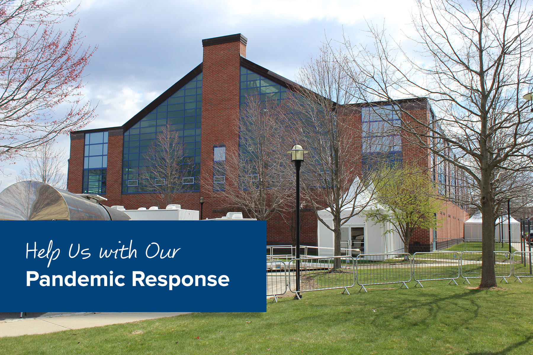 Help Us With Our Pandemic Response