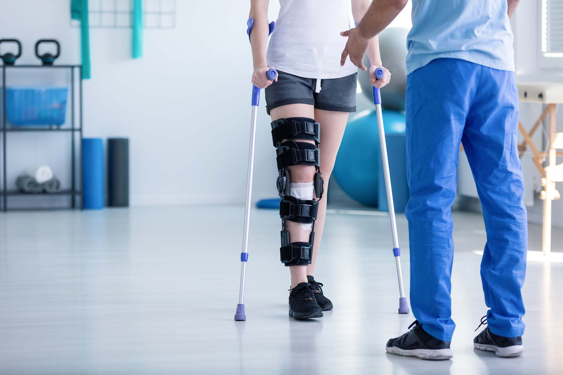 Physical Therapy & Rehabilitation Services - provider assisting patient