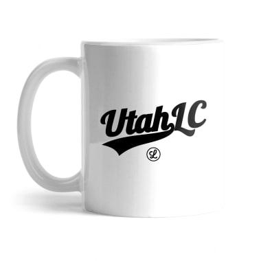Utah Logo Black Mug