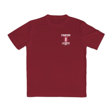 Stanford Lacrosse 2017 Performance T-Shirt