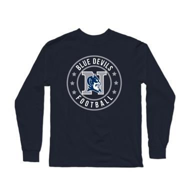 Blue Devils Football Badge Longsleeve Shirt