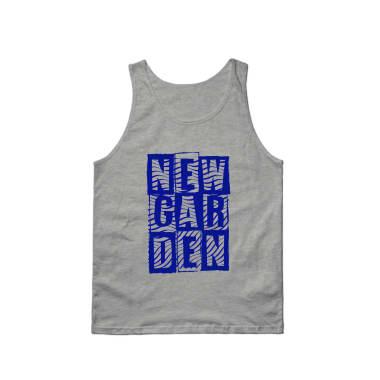 Newgarden Blue Waves Tank Top