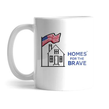 Homes For the Brave Mug