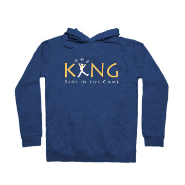 Kids In The Game Pullover Hoodie