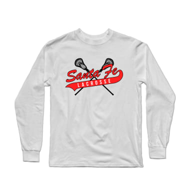 Santa Fe Lacrosse Long Sleeve: Custom Sleeve Print