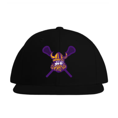 DeForest Norskies Lacrosse\ Baseball Style Hats