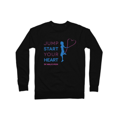 Jump Start Your Heart Crew neck