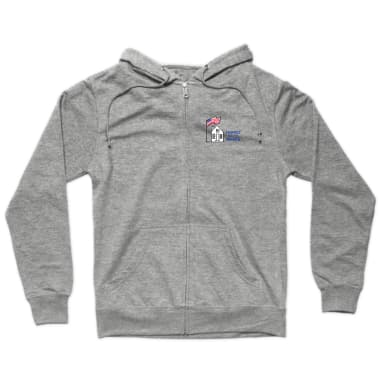 Homes For The Brave Zip Hoodie
