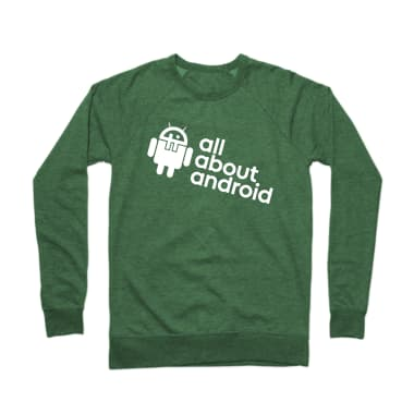 All About Android Podcast Crewneck Sweatshirt