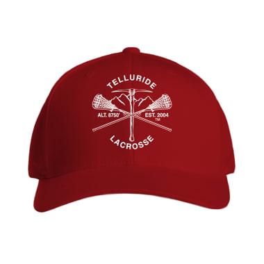 Telluride Lacrosse Varsity  Baseball Style Hats