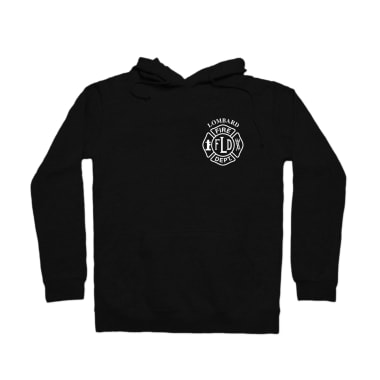 LFD Badge (White) Pullover Hoodie