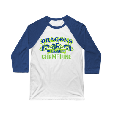 Dragons Limited Edition Challenge Champions Baseball Tee