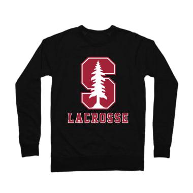 Stanford Lacrosse Crewneck Sweatshirt