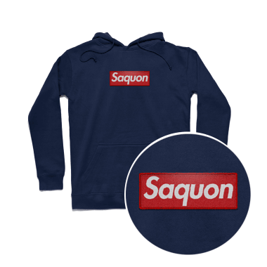 Saquon Hoodie with Twill Patch