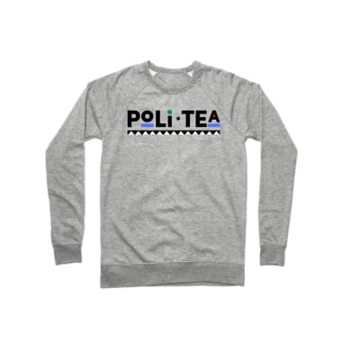 PoliTea Crewneck Sweatshirt