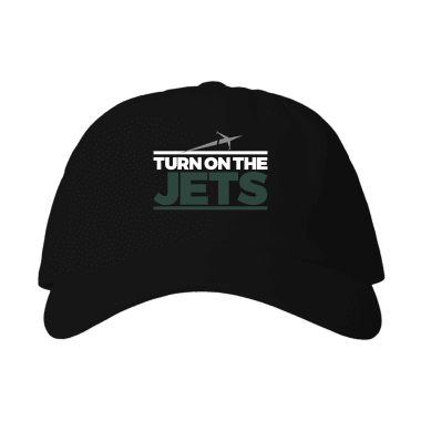 Turn on the Jets Classic Baseball Style Hats