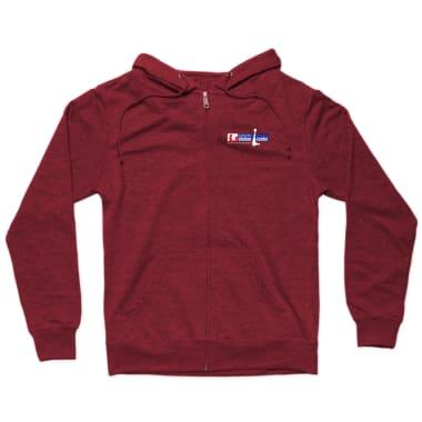 CSC Red Zip Hoodie