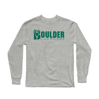 Boulder Lacrosse Wordmark Longsleeve Shirt