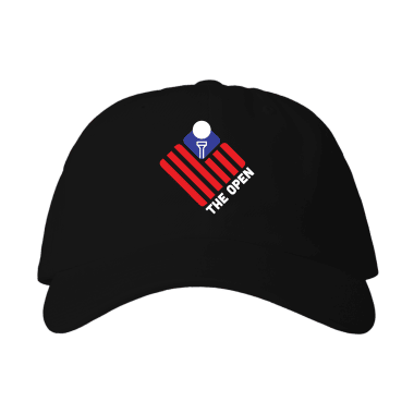 The Open (Flag) Baseball Style Hats