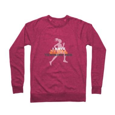No Idea What I'm Training For Crewneck Sweatshirt