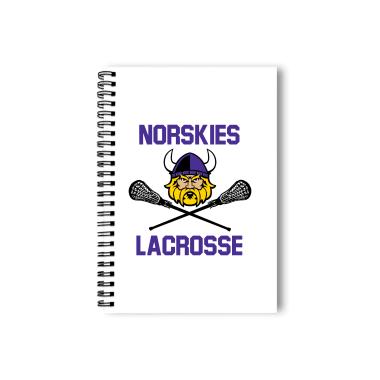 Norskies Club Lacrosse Notebook