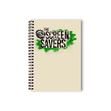 The New Screen Savers - light colored shirt Notebook