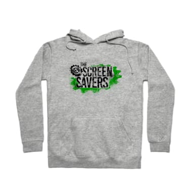 The New Screen Savers - light colored shirt Pullover Hoodie