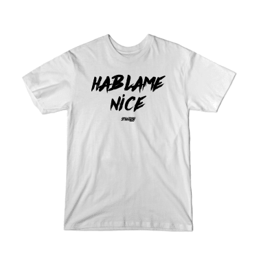 Hablame Nice (Black) T-Shirt