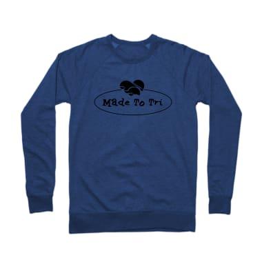 Made To Tri Tee Crewneck Sweatshirt