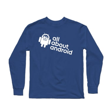 All About Android Podcast Longsleeve Shirt