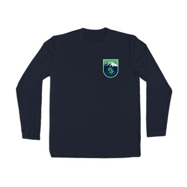 Seattle Lacrosse Club Badge Performance Longsleeve