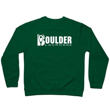 Boulder Lacrosse Wordmark Crewneck Sweatshirt