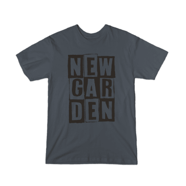 Newgarden Black Stacked T-Shirt