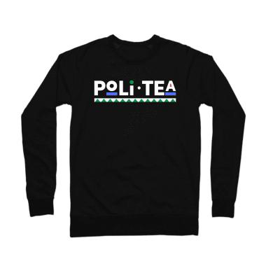 PoliTea Crewneck Sweatshirt Dark Collection