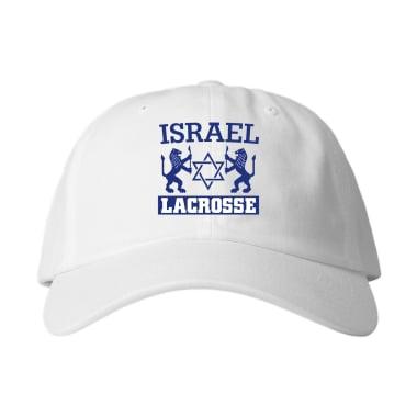 Israel Lacrosse Baseball Style Hats